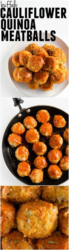 cauliflower meatballs